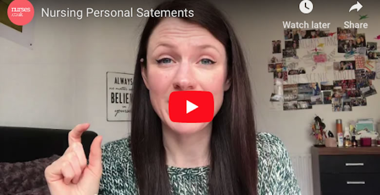 Claire's tips for writing your personal statement