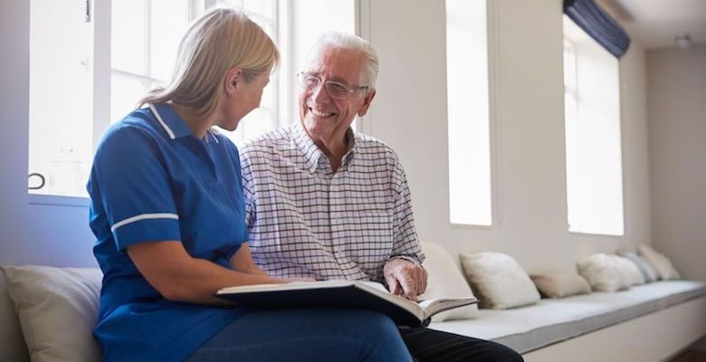 What is the difference between a residential home and a nursing home?