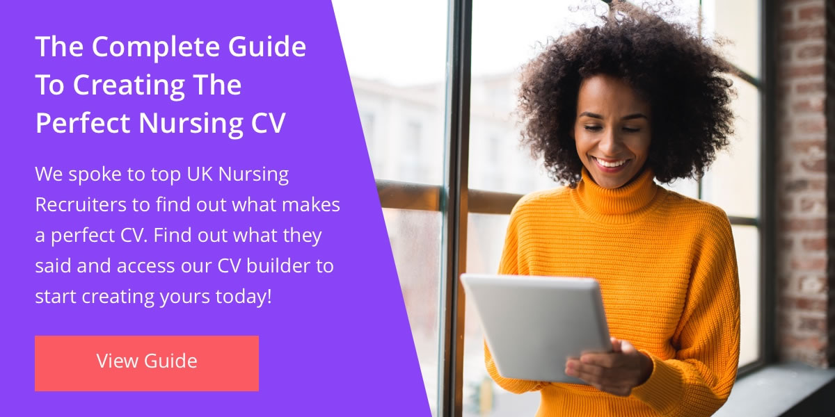 Complete Guide To Creating The Perfect Nursing CV